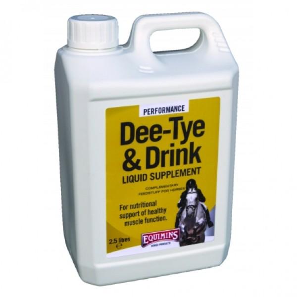Μυοχαλαρωτικό Equimins Dee-Tye & Drink Liquid Supplement